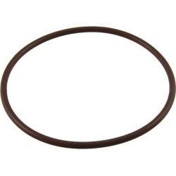 Unique Bargains Coffee Color Fluorine Rubber O Ring Grommets 80mm x 74mm x 3mm