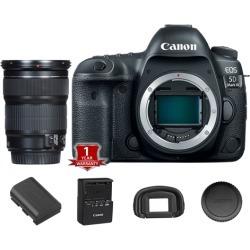 Canon EOS 5D Mark IV DSLR Camera (Body Only) (International Model) with 24-105mm STM Lens Kit