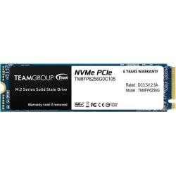 Team Group MP33 M.2 2280 256GB PCIe 3.0 x4 with NVMe 1.3 3D NAND Internal Solid State Drive (SSD) TM8FP6256G0C101 found on Bargain Bro Philippines from Newegg for $45.99