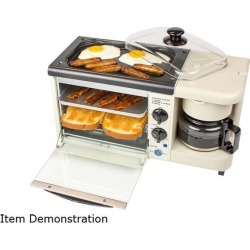 Nostalgia BSET100BC 3-in-1 Breakfast Station
