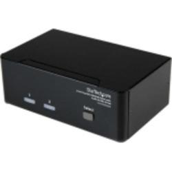 Startech.com 2 Port Dual Dvi Usb Kvm Switch With Audio &