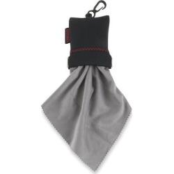 Large MicroFiber Lens Cloth (Black)