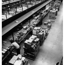 Posterazzi SAL2555061 High Angle View of Manual Workers Working in a Factory Poster Print - 18 x 24 in.