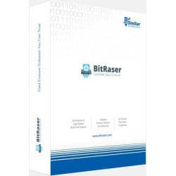 Stellar BitRaser Software Certified Data Erasure Software 10 Counters, Lifetime Licence CD