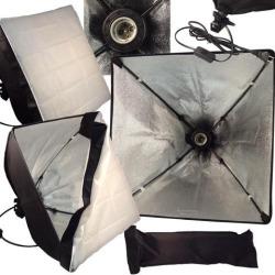 Photo Studio continuous lighting softbox Video Light 50*50cm(20'*20') Light head