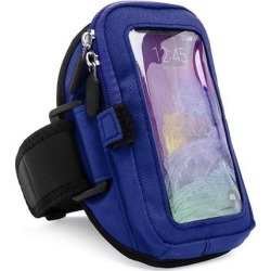 Workout Fitness Armband (fits Medium to Large Arms) /w Zipper fits HTC one M7 / M8 / M9