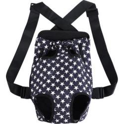 Pet Dog Carrier Star Type Adjustable Front Chest Backpack Pet Cat Puppy Holder Bag for Travel Outdoor Medium