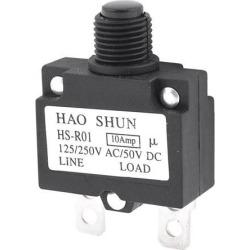 Unique Bargains Spare Part 2 Terminals HS-R01 Momentary Press Button Switch 125/250VAC 50VDC
