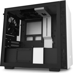 NZXT H210 - Mini-ITX PC Gaming Case - Front I/O USB Type-C Port - Tempered Glass Side Panel - Cable Management System - Water-Cooling Ready.