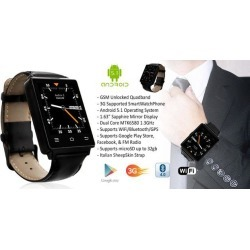 Indigi® GSM UNLOCKED! ANDROID 5.1 OS TOUCH SCREEN 3G SMART WATCH PHONE AT & T / T-MOBILE