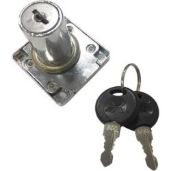 Cam Lock Desk Drawer Lock with 2 Keys for Cupboard Mailbox File Cabinet F