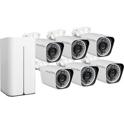 LaView 1080P 6 Wi-Fi Security Cameras 8CH IP NVR Security Camera System with 1TB Hard Drive, 6 Wi-Fi HD 2MP Bullet Cam 100' Night Vision Surveillance found on Bargain Bro India from Newegg for $661.99