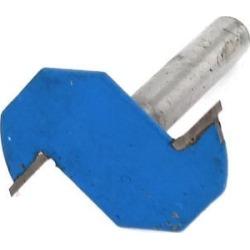 Carpenter 1/4' x 2mm Straight Shank T Type Slot Undercut Router Bit Hand Tool