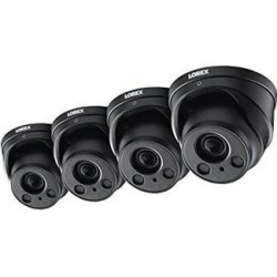 4-Pack of Lorex 8MP 4K IP Motorized Varifocal Zoom Audio Dome/Turret Security. found on Bargain Bro India from Newegg Business for $1324.93