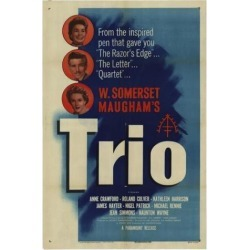 Posterazzi MOVAH5649 Trio Movie Poster - 27 x 40 in. found on Bargain Bro Philippines from Newegg Canada for $42.58