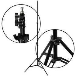 NEW! Premium Light Stand Adjustable 7ft Photo Video Studio Lighting Photography