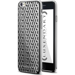 LUXENDARY BLACK QUEEN PATTERN DESIGN CHROME SERIES CASE FOR IPHONE 6/6S PLUS