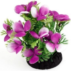 Unique Bargains 5.5' High Green Purple Manmade Plastic Water Grass Plant Decor for Aquarium found on Bargain Bro India from Newegg Canada for $9.84