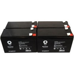 SPS Brand 12V 7 Ah Replacement Battery for Alpha Technologies PINBP 1000T UPS (4 PACK) found on Bargain Bro India from Newegg Business for $45.00