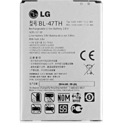 LG G Pro 2 OEM Cell Phone Li-ion Battery 3200mAh 3.8V 11.9Wh BL-47TH EAC62298701