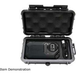 CASEMATIX Compact Rugged Waterproof Case Custom Designed to fit FLIR C3 / C2 Compact Thermal Imager Infrared Camera