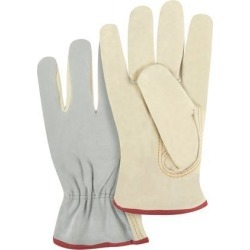 Zenith Safety Products Split Back Drivers Grain Palm Gloves, Small, 1 Pair