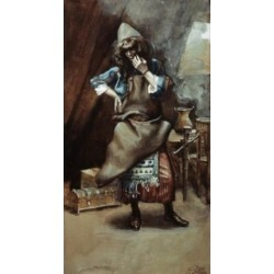 Posterazzi SAL999119 The Goldsmith James Tissot 1836-1902 French Jewish Museum New York City Poster Print - 18 x 24 in.