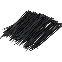 C2G 43037 100pk 6in Cable Ties - Black found on Bargain Bro Philippines from Newegg for $8.99