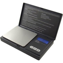 American Weigh American Weigh Scales AWS-600-BLK Digital Personal Nutrition Scale Pocket Size Black