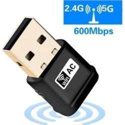 USB Wifi Adapter AC600 USB Wireless Adapter 2.4GHz/5GHz with inbuilt Antenna for Windows XP/Vista/7/8/8.1/10 MAC OS X 10.9-10.11 found on Bargain Bro India from Newegg Business for $15.88