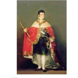 Posterazzi BALXIR192458LARGE Portrait of Ferdinand VII Poster Print by Francisco De Goya - 24 x 36 in. - Large found on Bargain Bro Philippines from Newegg Canada for $86.13