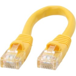 Coboc CY-CAT5E-0.5-YL 0.5 ft. 350Mhz UTP Network Cable found on Bargain Bro India from Newegg for $1.99