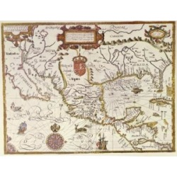 Posterazzi SAL900135923 The New World Ca.1600 Maps Poster Print - 18 x 24 in.