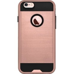Amzer Tough Armor iPhone 6s Plus Case with Extreme Heavy Duty Protection and Air Cushion Techonology for iPhone 6s Plus/ iPhone 6 Plus - Rose Gold/