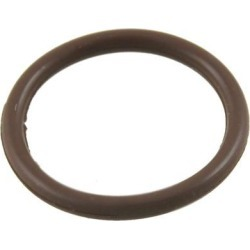 Unique Bargains Coffee Color Fluorine Rubber O Ring Grommets 22mm x 18mm x 2mm