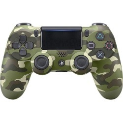 Sony DualShock 4 Wireless Controller for PlayStation 4 - Green Camouflage (CUH-ZCT2)