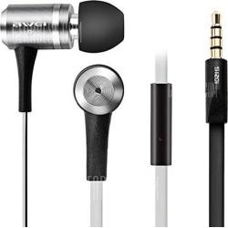 Awei S120i Gray In Ear Super Bass Noise Isolating Earphones Headphone Headset For Cellphone