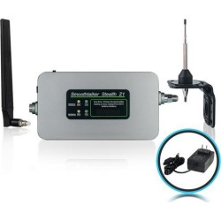 Smoothtalker - Stealth Z1 65dB Building Cellular Signal Booster Kit with Omni Directional Antennas