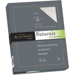 Southworth 99418 Naturals Paper, Birch, 8 1/2 X 11, 32Lb, 100 Sheets