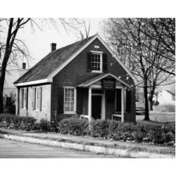 Posterazzi SAL25544961 Schoolhouse at the Roadside Clara Barton Schoolhouse Bordentown New Jersey USA Poster Print - 18 x 24 in.