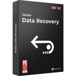 Stellar Data Recovery Software for Windows Standard Recovers Deleted Data, Photos, Videos, Emails, etc. 1 Device, 1 Yr Subscription CD