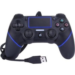 Joystick Gamepad Controller Vibration USB Wired Game Console Gamepad for PS4