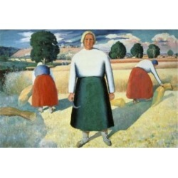 Posterazzi SAL261395 Female Farmers Kazimir Malevich 1878-1935 Russian Russian State Museum St Petersburg Russia Poster Print - 18 x 24 in. found on Bargain Bro India from Newegg Canada for $52.03