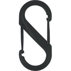 Nite Ize SBP4-03-01BG S-Biner Plastic Size No.4 Black-Black Gates
