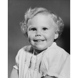 Posterazzi SAL2559465 Portrait of a Baby Girl Smiling Poster Print - 18 x 24 in.