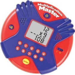 Learning Resources Multiplication Master Electronic Flash Card Game