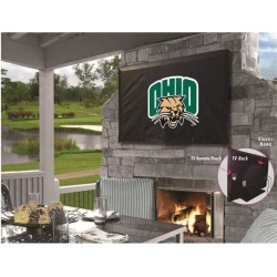 Holland Bar Stool TV30UnivOH Ohio University Vinyl TV Cover, Black