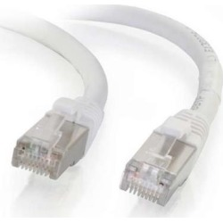 Cables To Go 00917 4 ft. Cat6 Snagless Shielded-STP Ethernet Network Patch Cable - White