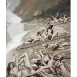 Posterazzi SAL999405 The Deluge James Tissot 1836-1902 French Jewish Museum New York Poster Print - 18 x 24 in.