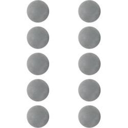 10 Pieces EVA Foam Golf Swing Exercises Practice Training Balls Gray